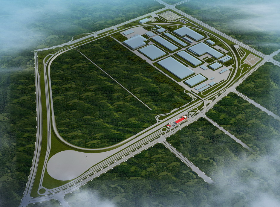 安徽江淮汽车集团股份有限公司新港基地综合试验场项目