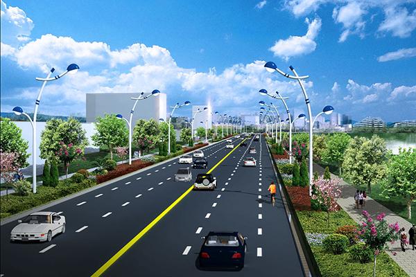 萍鄉市濱河路項目