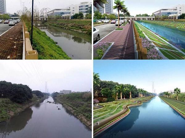 河道治理及生態修複工程解決方案