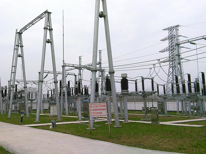 安徽滁州新塘110kV變電站2號主變擴建工程