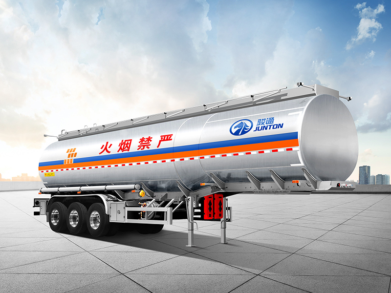 Tank Truck-Aluminum Alloy Flammable Liquid Transporter