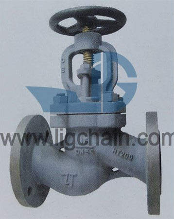 DIN 86252 Cast Iron Stop Check Valves