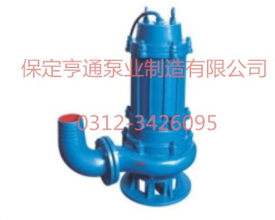 40WQ10-10-0.75無堵塞潛水排污泵