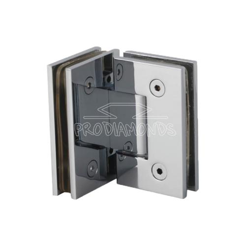 Glass to Glass 90 degree shower door hinge