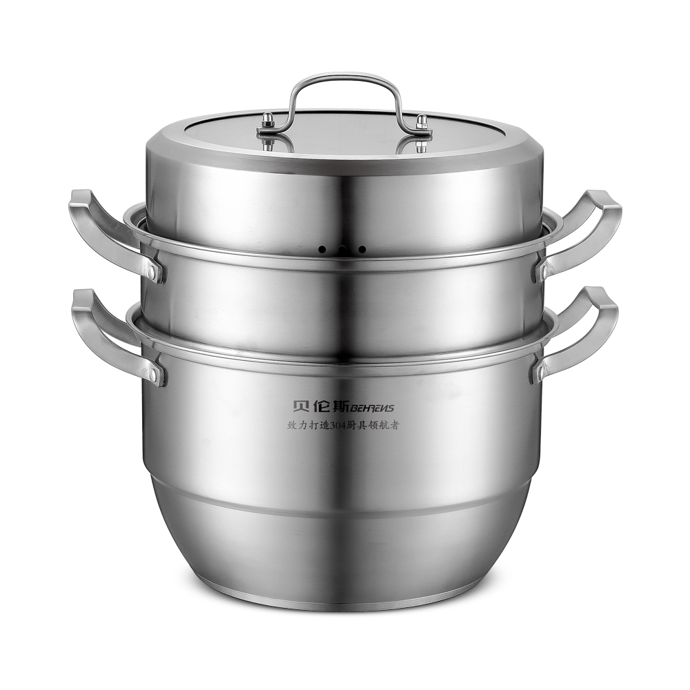 Vitine three-layer steamer