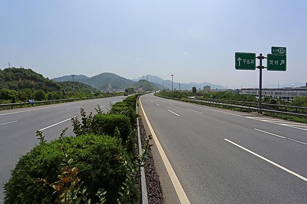 杭新景高速富阳段