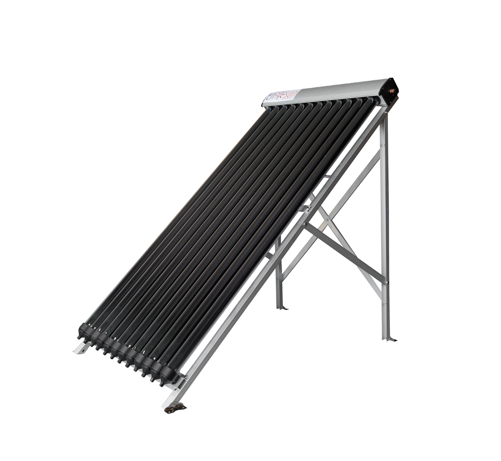 Heat pipe solar collector 12