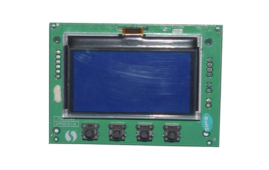 智能水處理閥門控制器點陣液晶顯示板