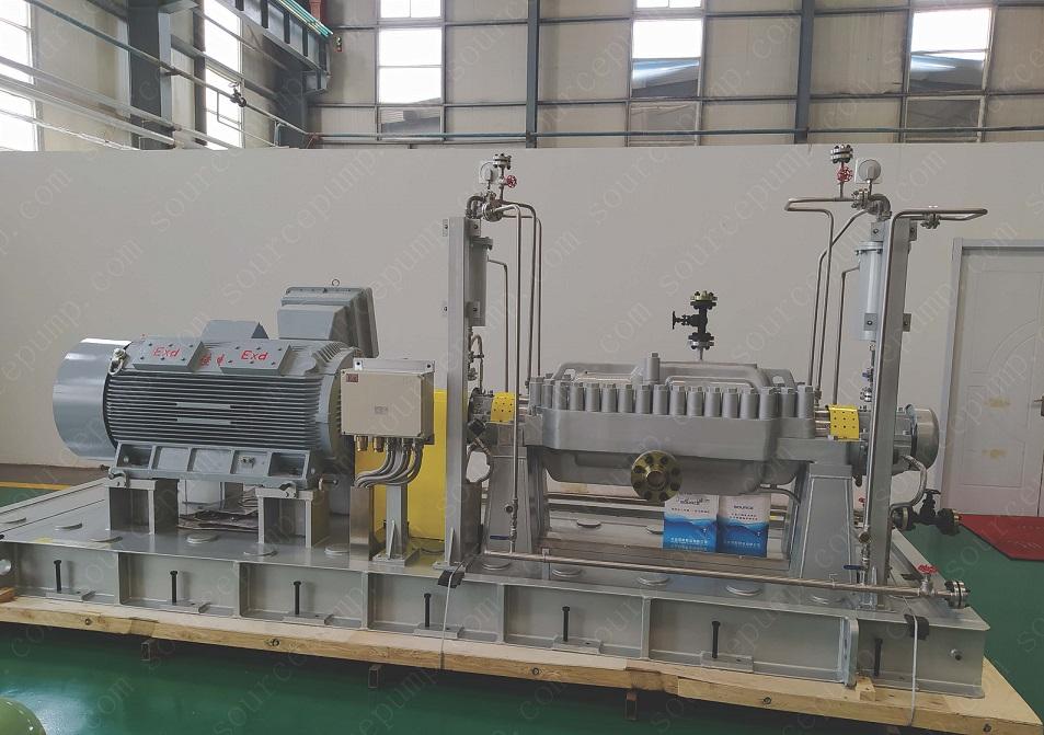 SBC臥式中開多級離心泵(API610/BB3型式)