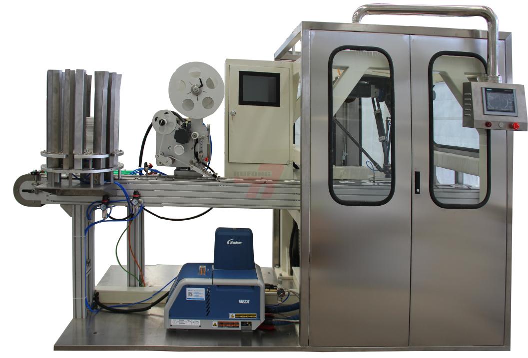 RF-LM100粘盖机