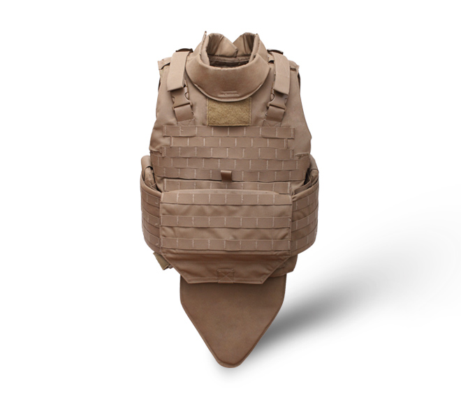 Desert camouflage full protective tactical flak jacket