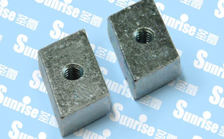 Steel Stamped Threaded Plate