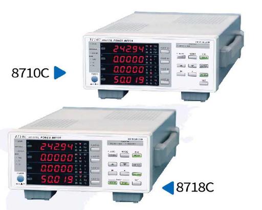 單相電參數測量儀8710C/8718C