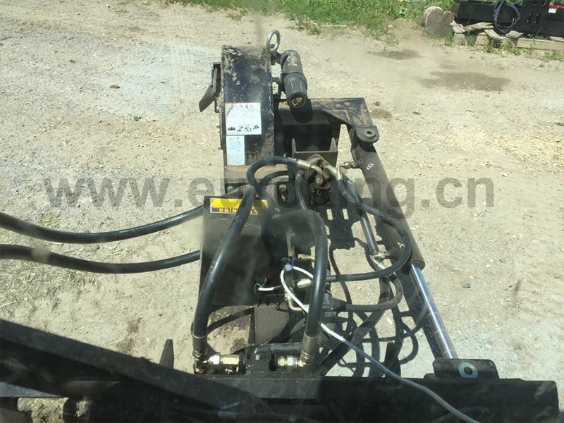 Skid Steer Stump Grinder
