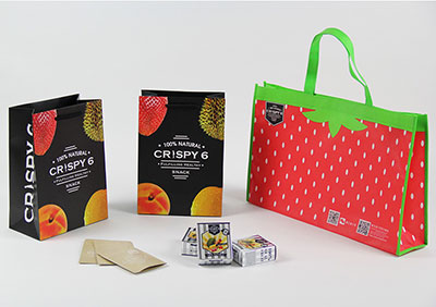 OEM Custom Kraft Paper Bags for Food Packaging