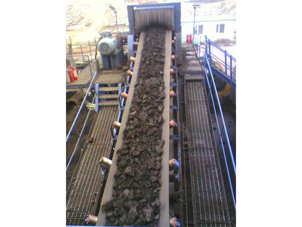 霍林河露天煤業輸煤系統破碎站排料帶式輸送機