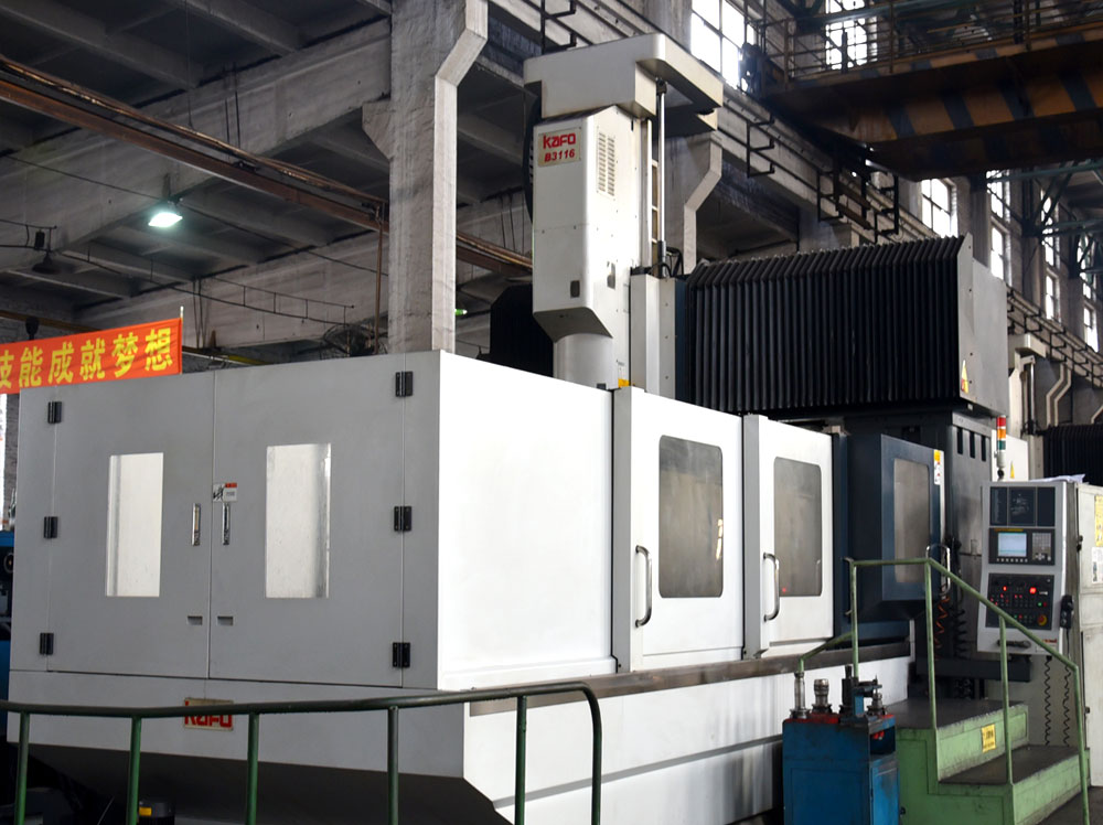 Dies CNC machining center