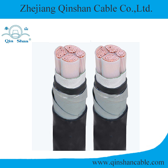 Copper Conductor XLPE Insulated Steel Tape Armoured PVC Sheathed Electric Cable