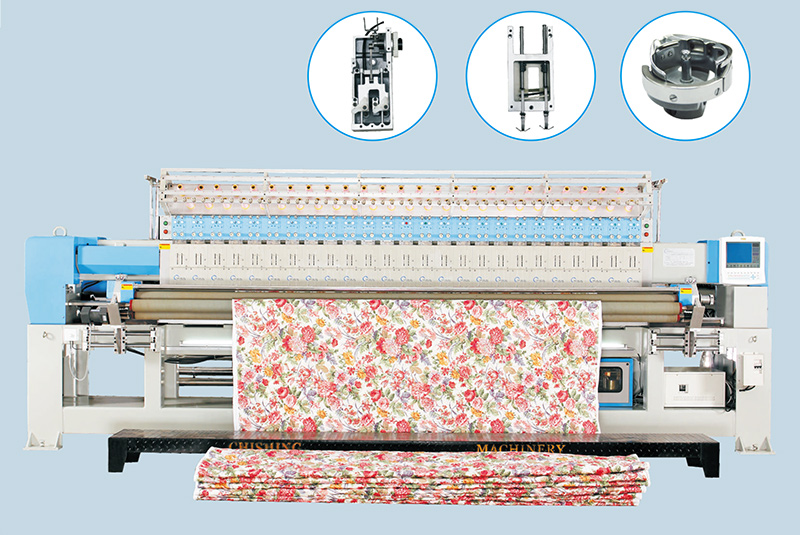 CSHX233 Multi Head Quilting Embroidery Machine
