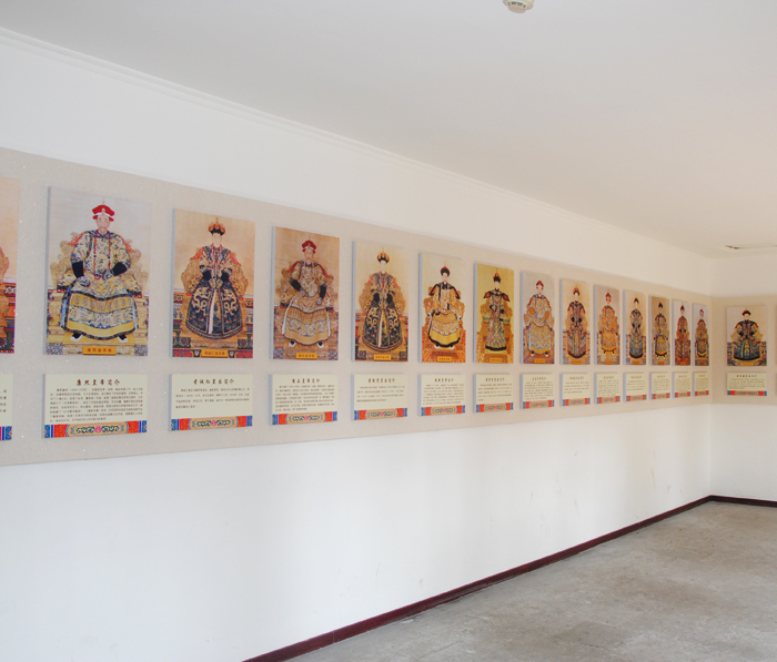 Portrait Exhibition for Qing Emperor and Empress