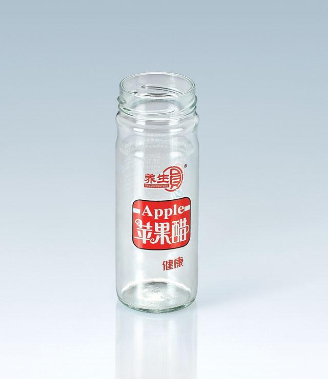 四色養生圓蘋果醋瓶