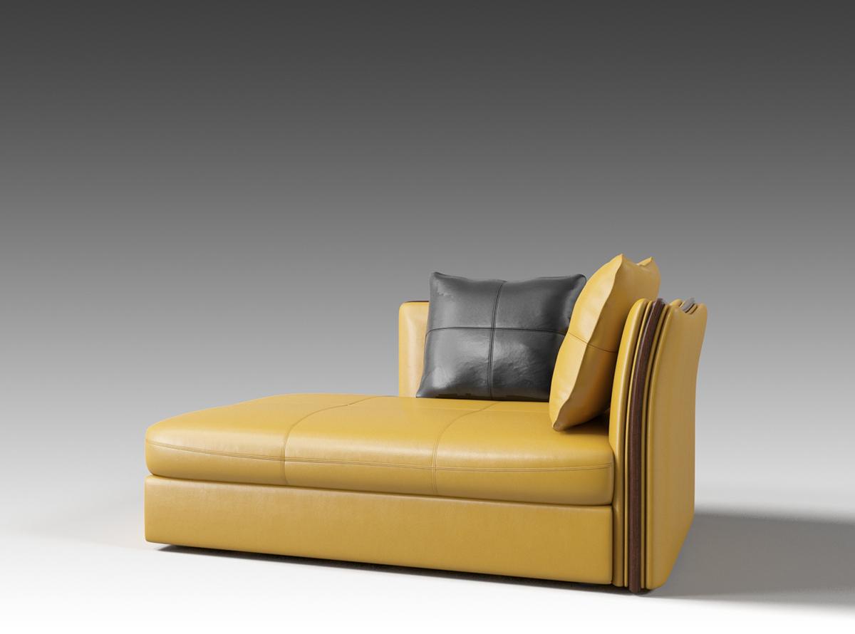 M6313贵妃位沙发