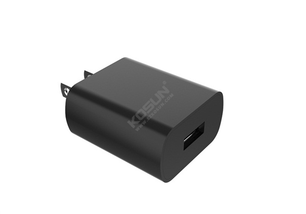 5V/2.4A Fixed Plug Wall Charger