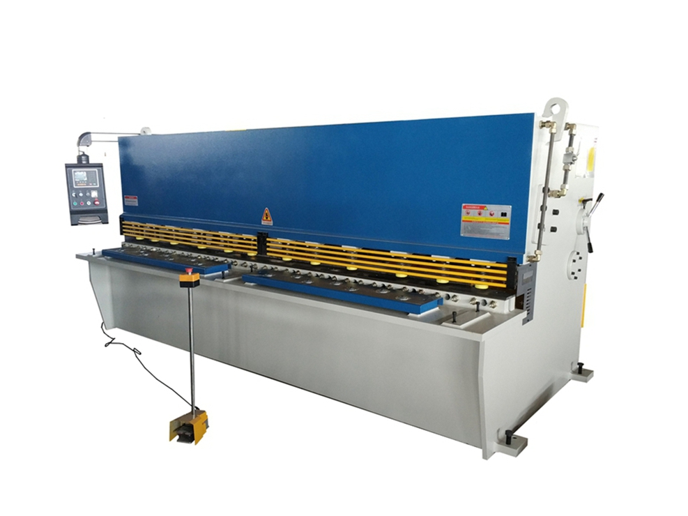 QC12K搖臂數控液壓擺式剪板機