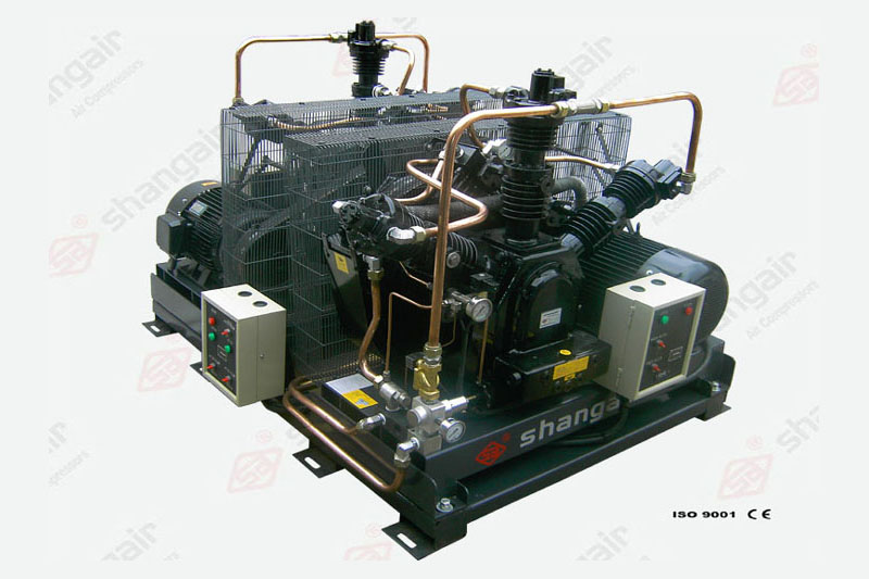 42WZ Series Booster Air Compressor (Double-Engine Set)