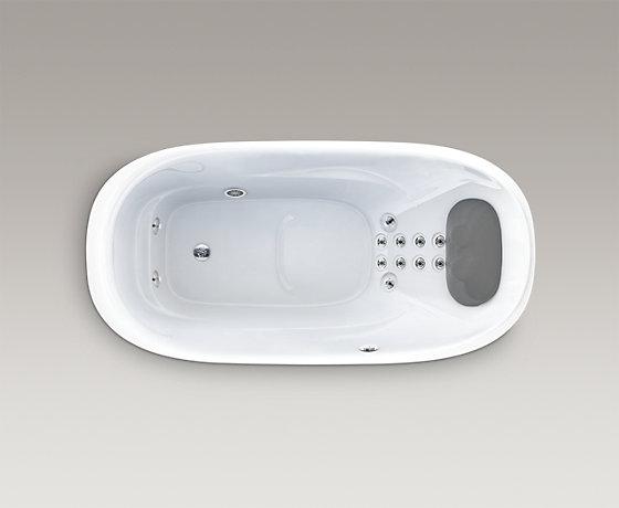 皓玥1.8米橢圓形按摩浴缸
