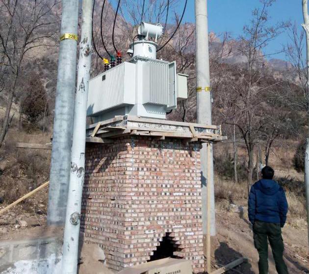 北京供电公司SVR-4000调压器