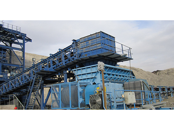 Huolinhe Coalcut Coal Industry coal conveying system crushing station discharging belt conveyer