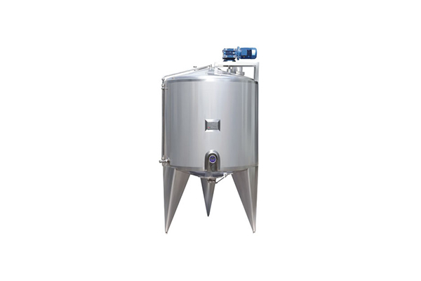 Single-layer paddle-type stirring storage tank