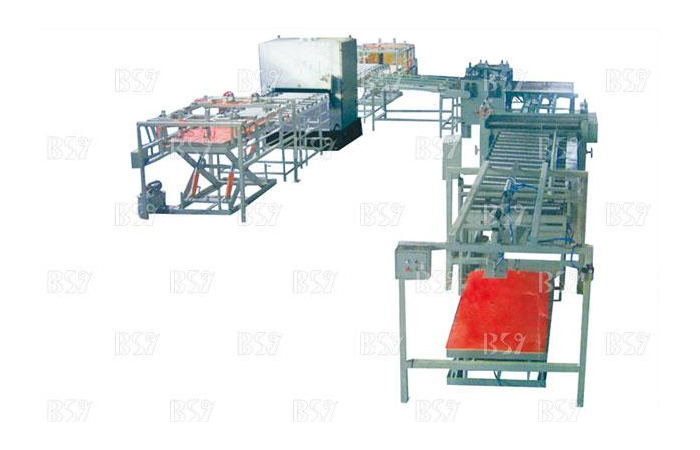 High speed Saw Edge sanding production line