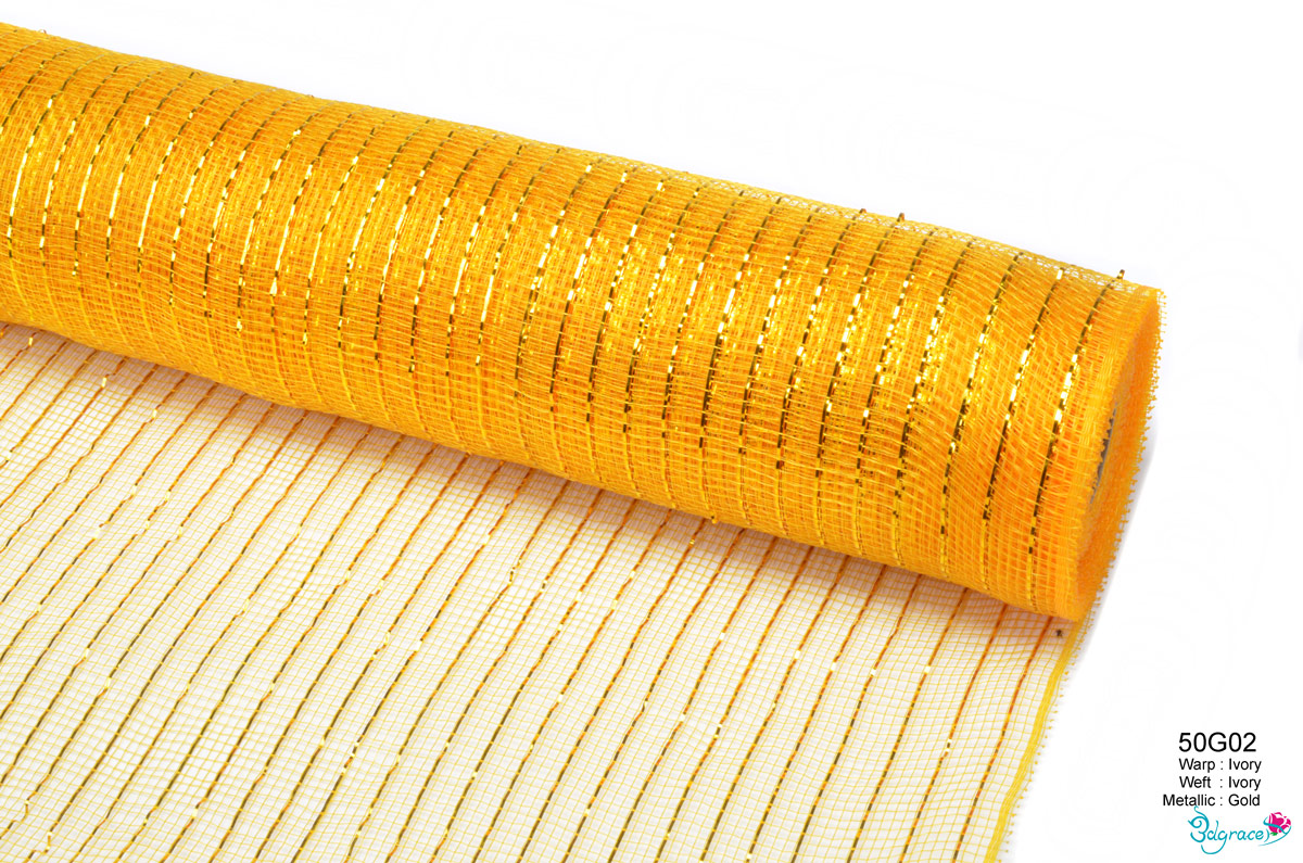 50 Regular Metallic Mesh 50G23 Or 50C23 Gold Metallic In Dk.Gold PP