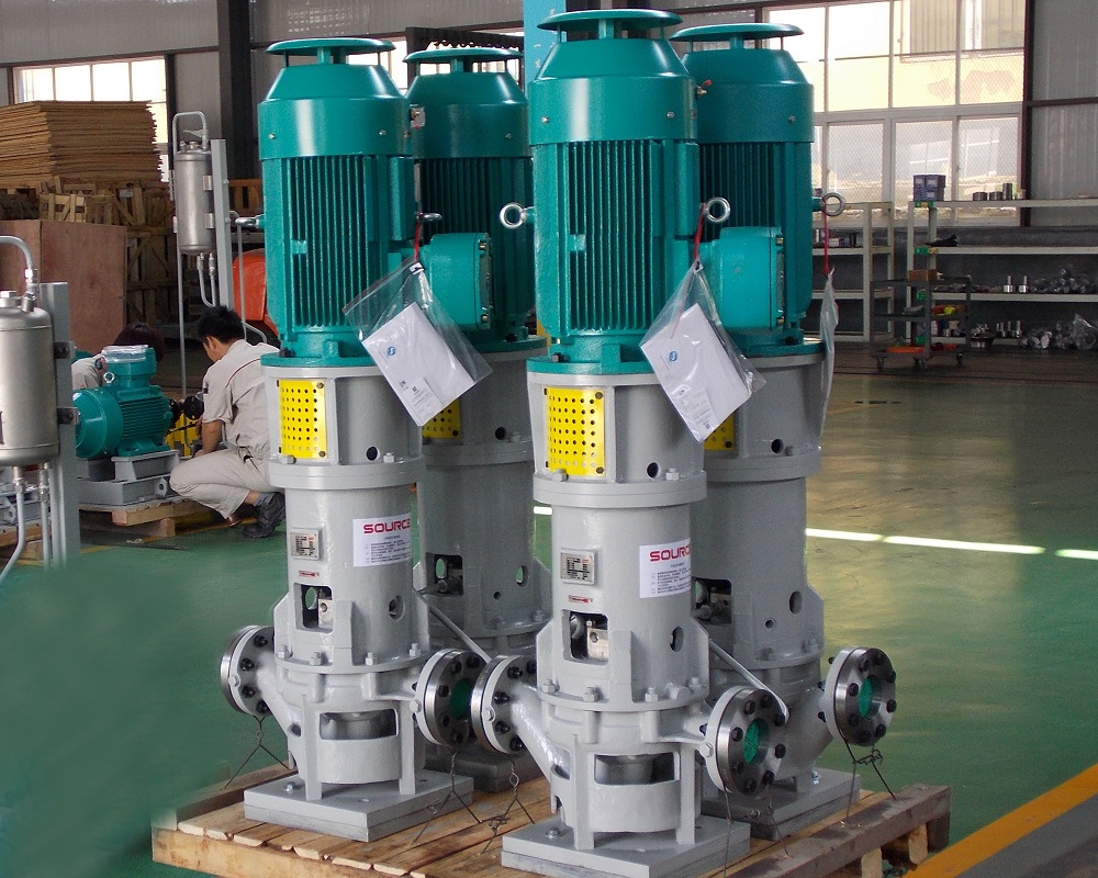 SOG vertical pipeline pump (API610/OH3 type)