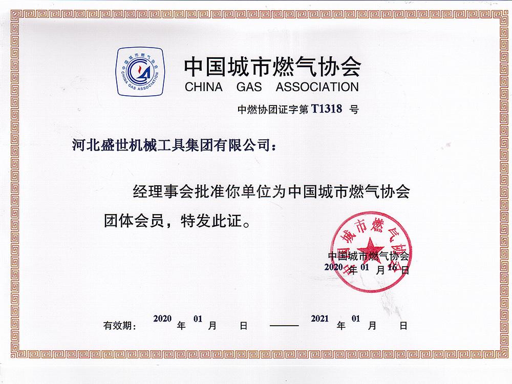 中國城市燃氣協會會員