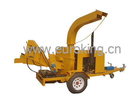 50Hp Chinese Famous Diesel Engine Wood Chipper