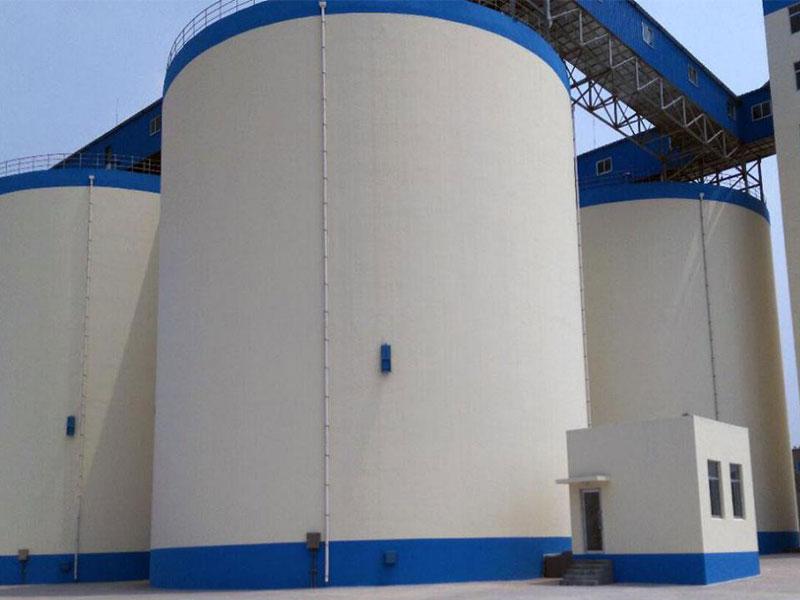 山東省糧食物流中心新建項目(魯中儲備庫)3萬噸淺圓倉項目