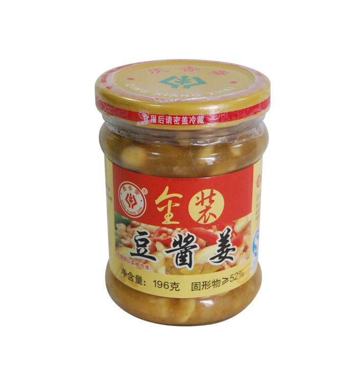 金裝豆醬姜(196克)