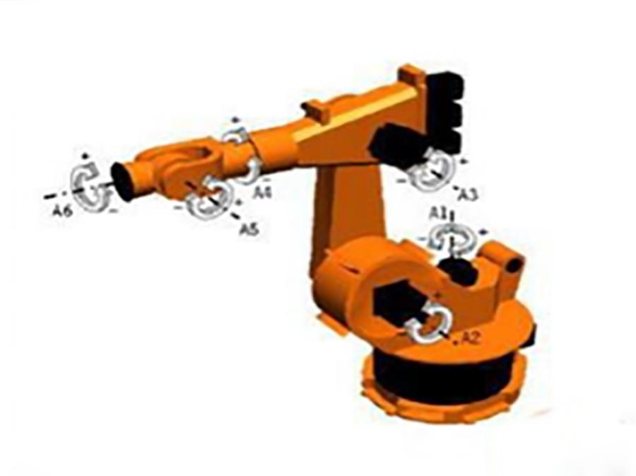 三、四、五、六自由度的工業機器人