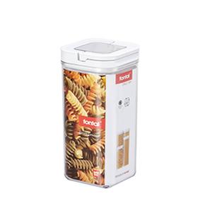 提扣正方形密封罐 1.7L