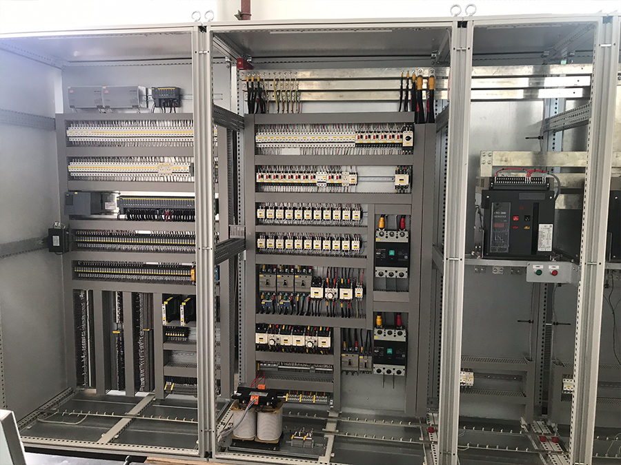 不銹鋼修磨線西門子PLC柜
