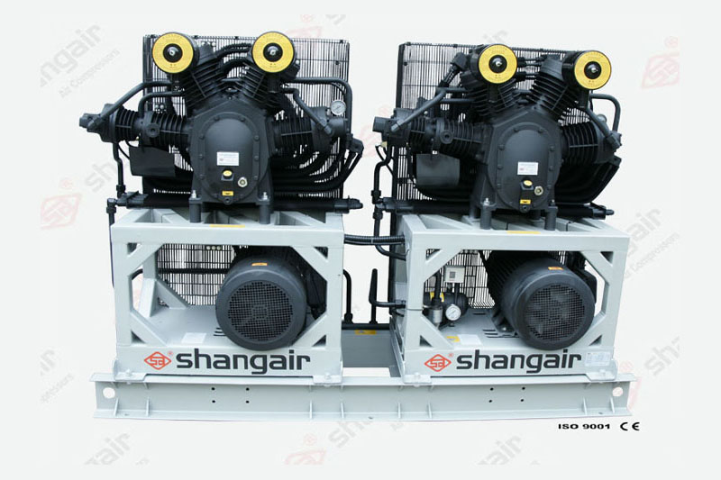 34SH Series Air Compressor (Double-Engine Set)