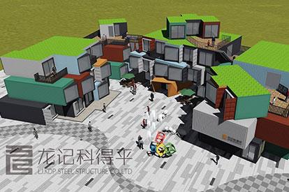 黑山谷集装箱酒店项目
