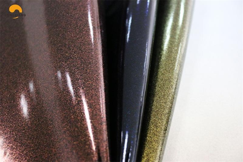 Mirror leather