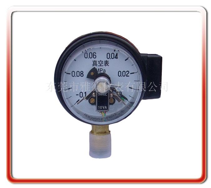 100MM徑向電接點真空表
