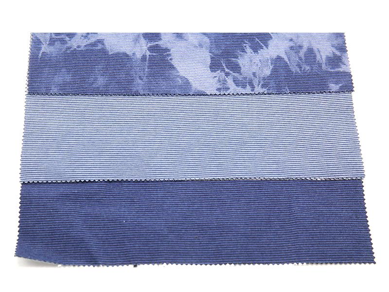 WFSC41833T-51 靛蓝彩条双面健康布