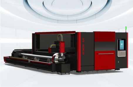 PLATE AND TUBE INTEGRATED FIBER LASER CUTTING MACHINE(HY-4020GH)