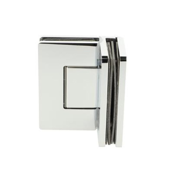 Heavy Duty Shower Hinge with Cover Plate 90 Degree Glass to Glass